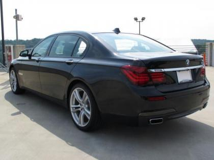 2013 BMW 750 LI - BLACK ON BLACK 3