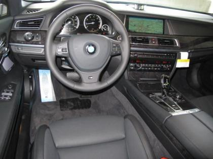 2013 BMW 750 LI - BLACK ON BLACK 4