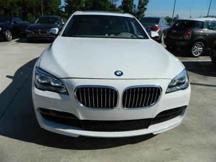 2013 BMW 750 LI - WHITE ON GREY