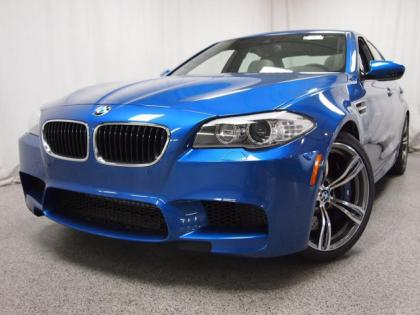 2013 BMW M5 BASE - BLUE ON GREY