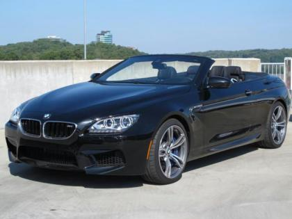 2013 BMW M6 BASE - BLACK ON BLACK 1