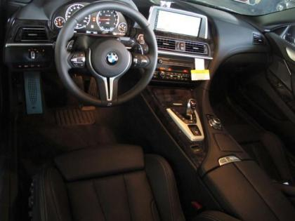 2013 BMW M6 BASE - BLACK ON BLACK 4
