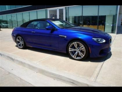 2013 BMW M6 BASE - BLUE ON WHITE 1