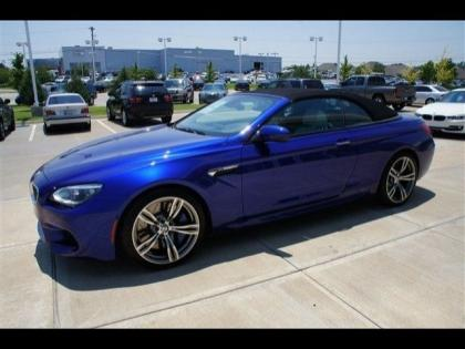 2013 BMW M6 BASE - BLUE ON WHITE 3