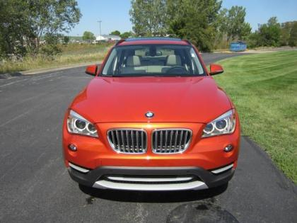 2013 BMW X1 XDRIVE35I - ORANGE ON OYSTER 1