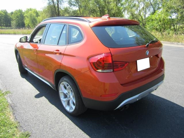 2013 BMW X1 XDRIVE35I - ORANGE ON OYSTER 3