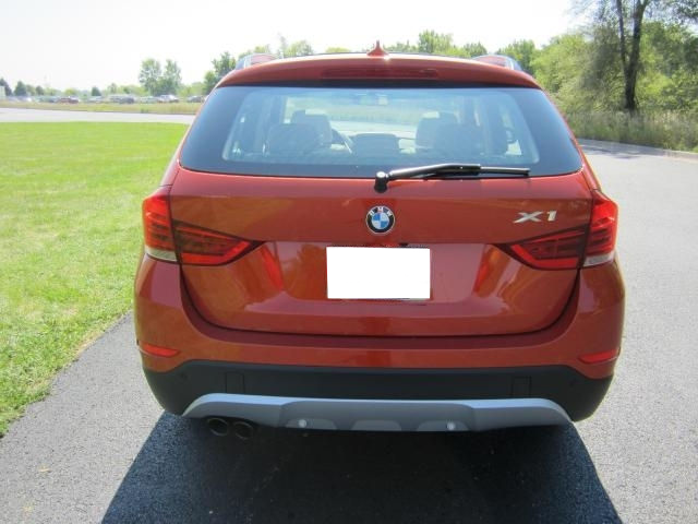 2013 BMW X1 XDRIVE35I - ORANGE ON OYSTER 4