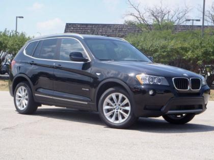 2013 BMW X3 XDRIVE28I - BLACK ON BLACK