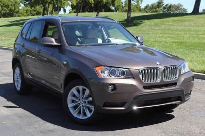 2013 BMW X3 XDRIVE28I - BRONZE ON OYSTER
