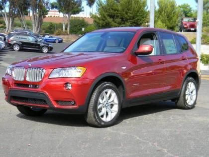 2013 BMW X3 XDRIVE35I - RED ON OYSTER