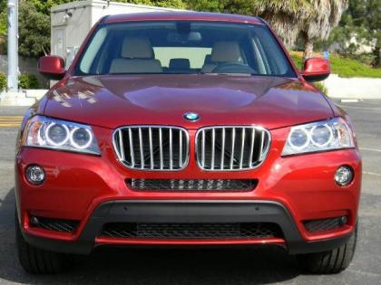 2013 BMW X3 XDRIVE35I - RED ON OYSTER 2