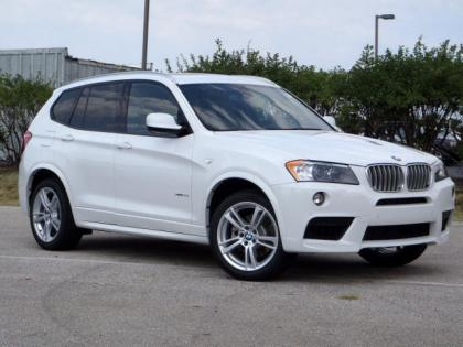 2013 BMW X3 XDRIVE35I - WHITE ON BLACK