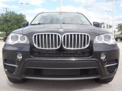 2013 BMW X5 XDRIVE35I PREMIUM - BLACK ON ORANGE 1