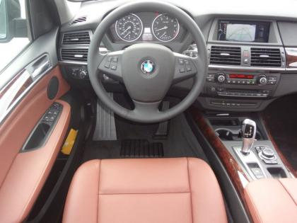 2013 BMW X5 XDRIVE35I PREMIUM - BLACK ON ORANGE 5