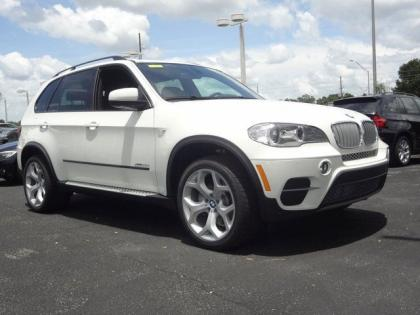 2013 BMW X5 XDRIVE35D - WHITE ON BLACK