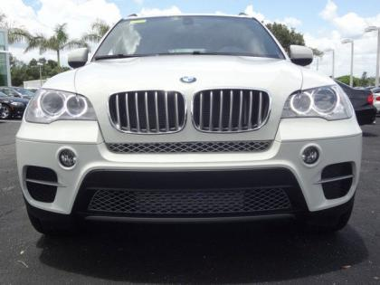 2013 BMW X5 XDRIVE35D - WHITE ON BLACK 4