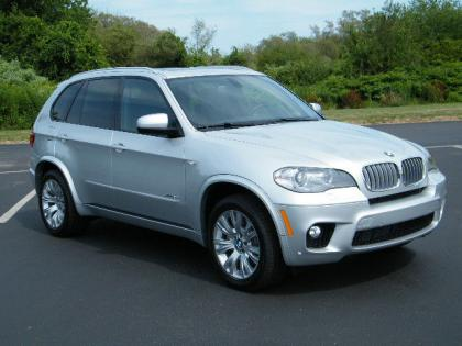 2013 BMW X5 XDRIVE50I - SILVER ON BLACK