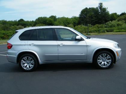 2013 BMW X5 XDRIVE50I - SILVER ON BLACK 3