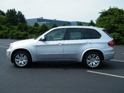 2013 BMW X5 XDRIVE50I - SILVER ON BLACK 4