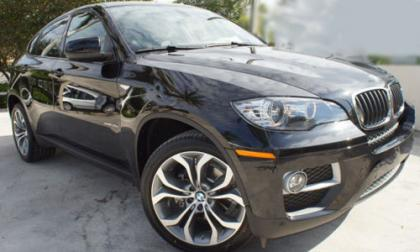 2013 BMW X6 XDRIVE35I - BLACK ON BLACK