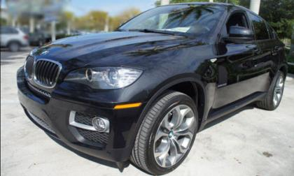 2013 BMW X6 XDRIVE35I - BLACK ON BLACK 2