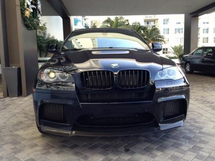 Export New 2013 Bmw X6 M Black On Black