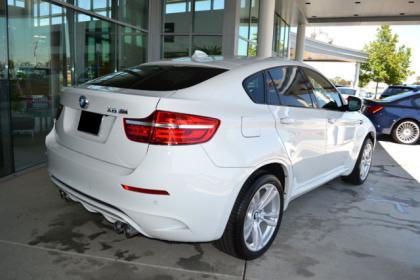2013 BMW X6 M - WHITE ON BLACK 3