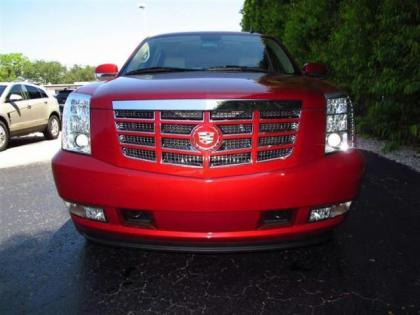 2013 CADILLAC ESCALADE HYBRID BASE - RED ON BEIGE 2