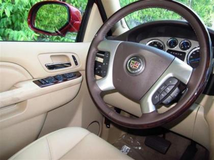2013 CADILLAC ESCALADE HYBRID BASE - RED ON BEIGE 6