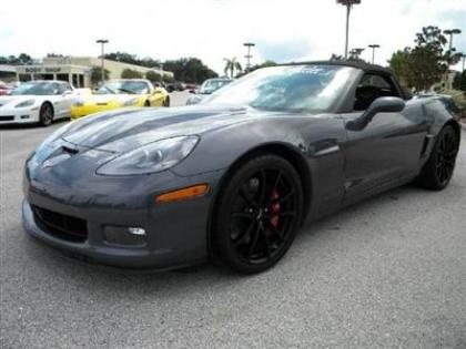 2013 CHEVROLET CORVETTE CONV 427 W/1SB - GRAY ON BLACK