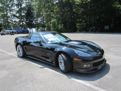 2013 CHEVROLET CORVETTE ZR1 - BLACK ON BLACK