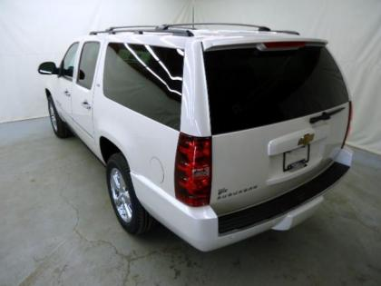 2013 CHEVROLET SUBURBAN 1500 LTZ - WHITE ON BLACK 2