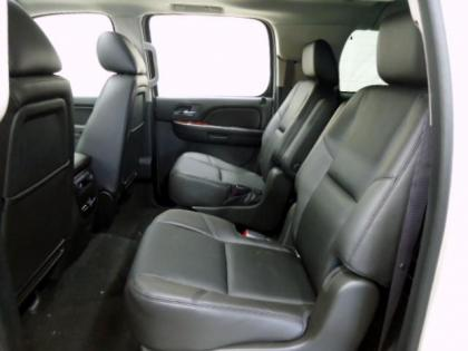 2013 CHEVROLET SUBURBAN 1500 LTZ - WHITE ON BLACK 4