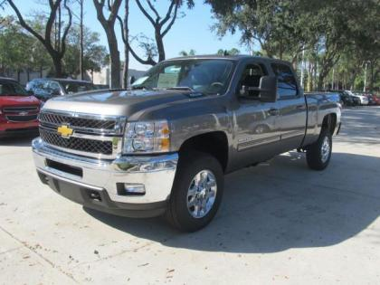2013 CHEVROLET SILVERADO 2500 LTZ H/D - GRAY ON BLACK