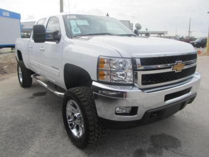 2013 CHEVROLET SILVERADO 2500 LTZ - WHITE ON BLACK