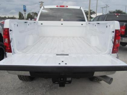 2013 CHEVROLET SILVERADO 2500 LTZ - WHITE ON BLACK 2