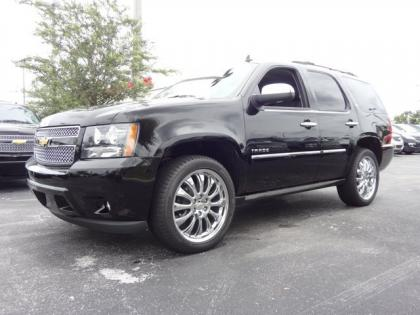 2013 CHEVROLET TAHOE LTZ - BLACK ON BLACK
