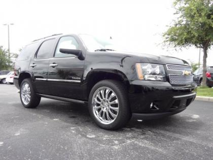 2013 CHEVROLET TAHOE LTZ - BLACK ON BLACK 6
