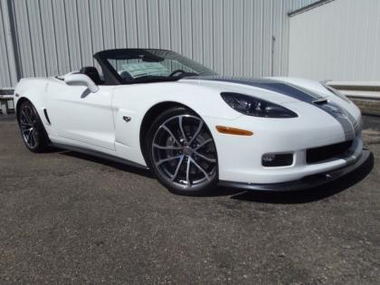 2013 CHEVROLET CORVETTE 427 - WHITE ON BLUE