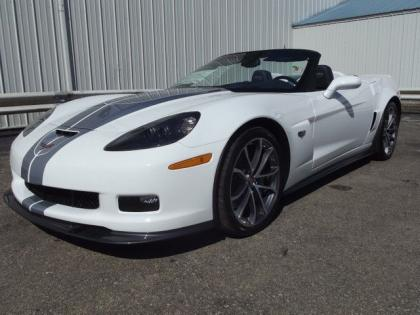 2013 CHEVROLET CORVETTE 427 - WHITE ON BLUE 2