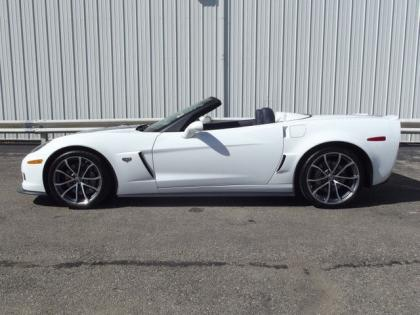 2013 CHEVROLET CORVETTE 427 - WHITE ON BLUE 3