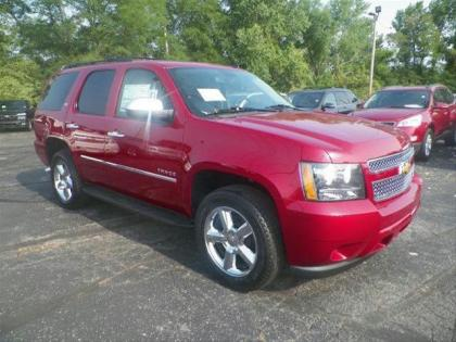 2013 CHEVROLET TAHOE LTZ - RED ON BLACK