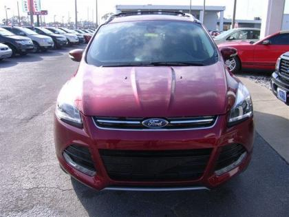 2013 FORD ESCAPE TITANIUM - RED ON BLACK 2