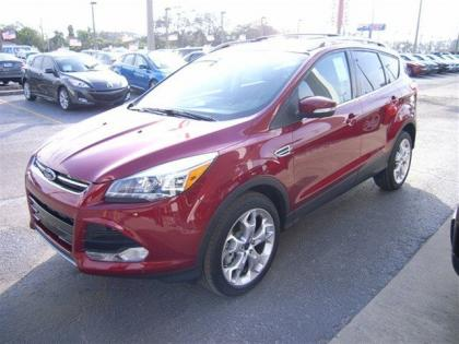 2013 FORD ESCAPE TITANIUM - RED ON BLACK 3