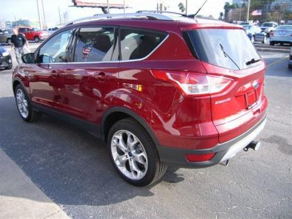 2013 FORD ESCAPE TITANIUM - RED ON BLACK 4
