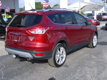 2013 FORD ESCAPE TITANIUM - RED ON BLACK 5
