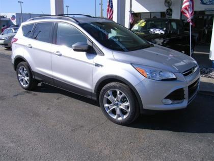 2013 FORD ESCAPE SEL - SILVER ON BLACK 1