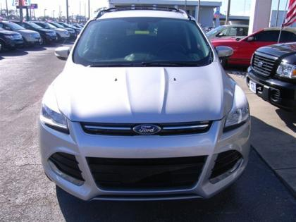 2013 FORD ESCAPE SEL - SILVER ON BLACK 2