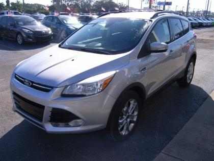 2013 FORD ESCAPE SEL - SILVER ON BLACK 3