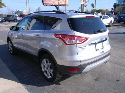 2013 FORD ESCAPE SEL - SILVER ON BLACK 4